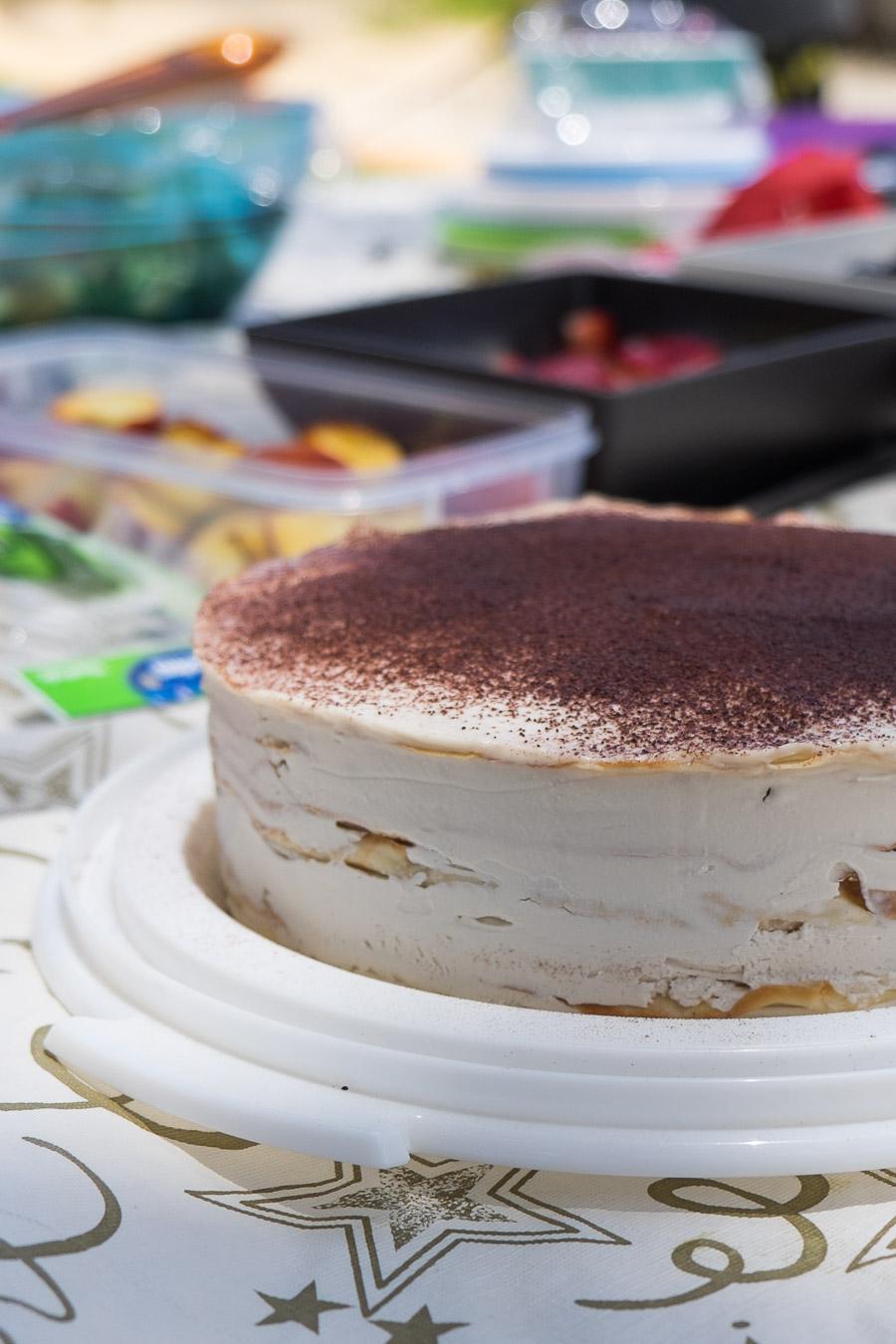 The tiramisu crepe cake