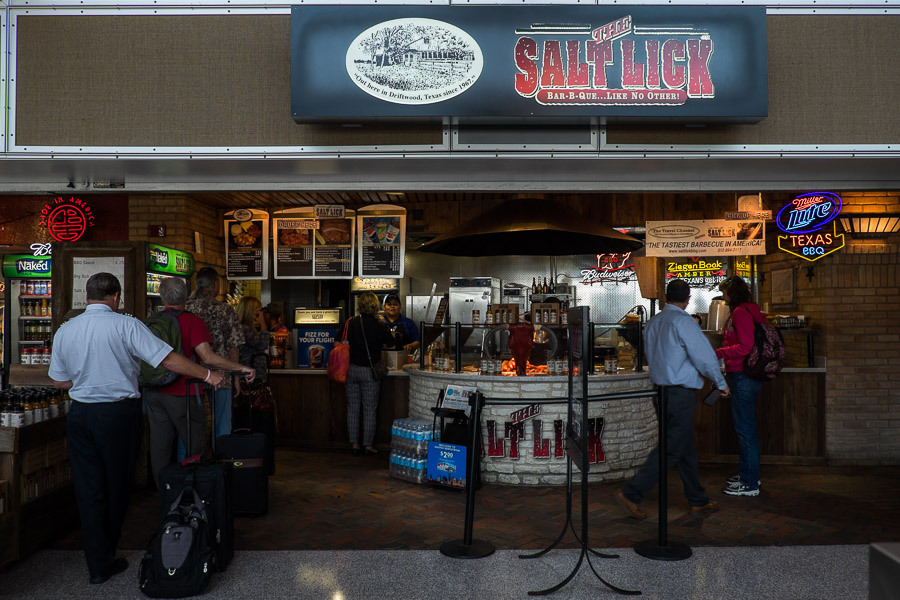 The Salt Lick at Austin International Airport