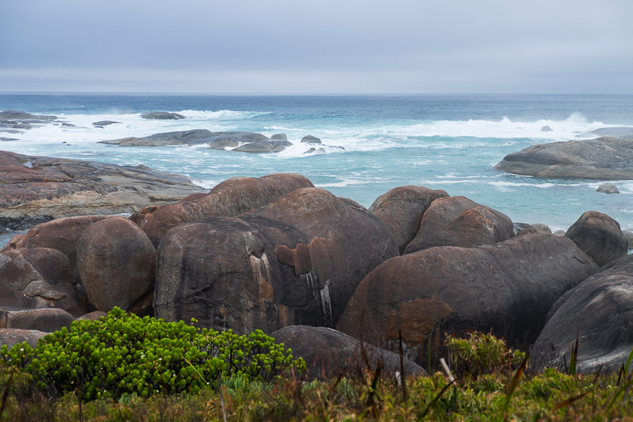 Elephant Rocks - the huge granite boulders resemble a herd of elephants.