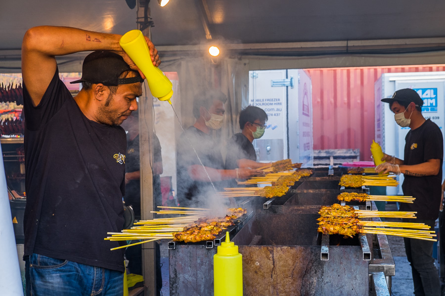 Satay at Roti Road