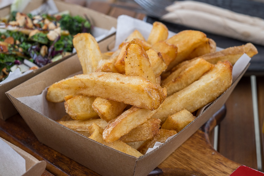 Hand-cut chips