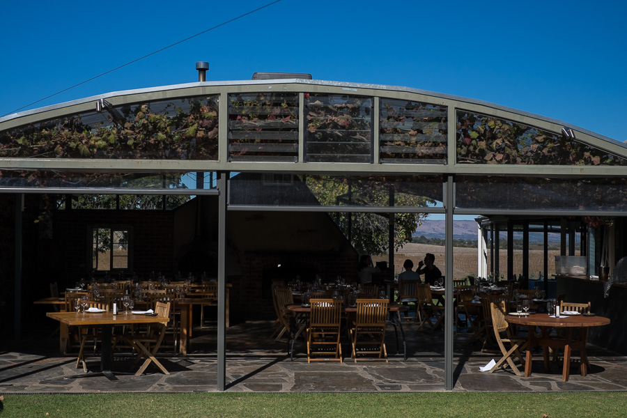 The Coriole restaurant next to the cellar door