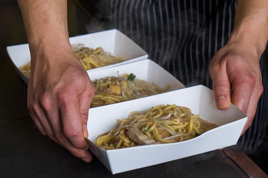 Hokkien fried noodles